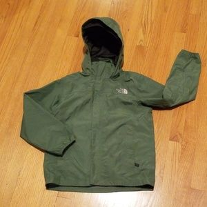 The North Face Green Rain Jacket Size M